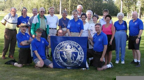 2001 St. Andrew's Golf Tournament 18