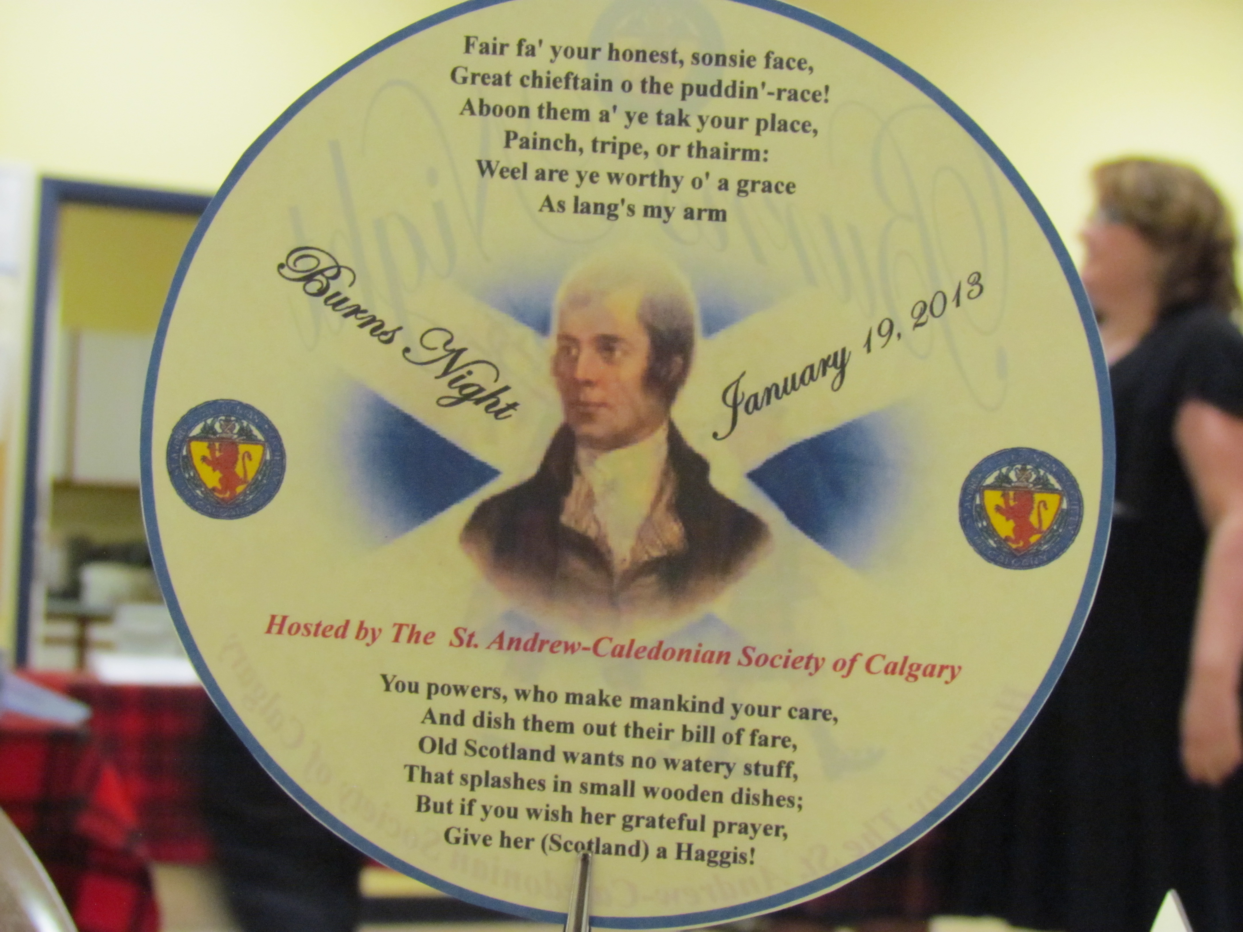 2013 Robbie Burns Dinner 07